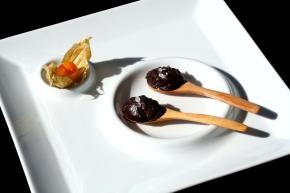 Gelatina de cacao especiada