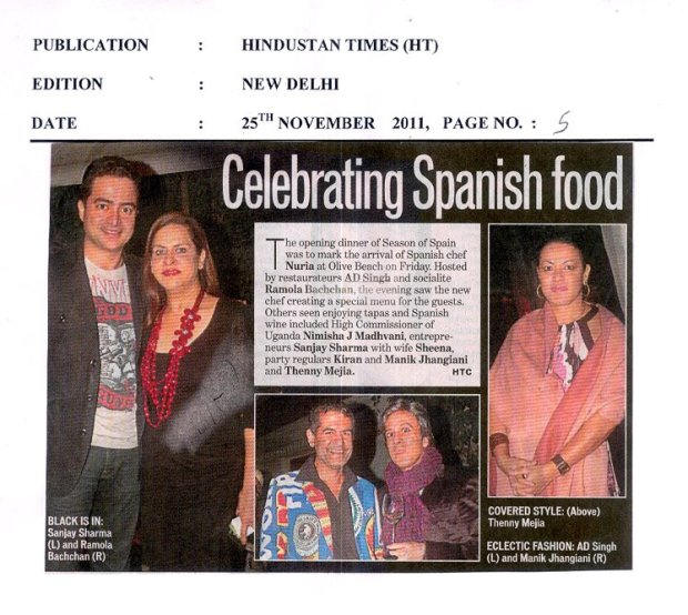 Celebrating Spanish Food